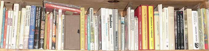 Shelf of Books by Avram Davidson